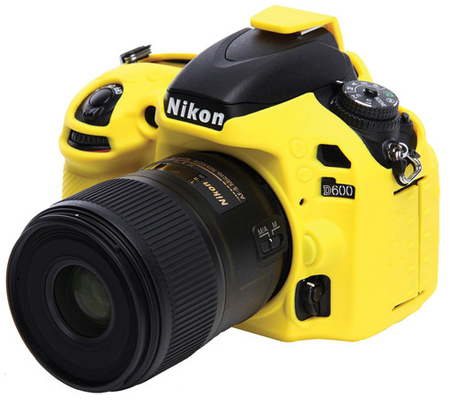 Easy Cover for Nikon D610/D600 Yellow