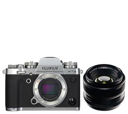 Fujifilm X-T3 Body Silver + XF 35mm F1.4 R