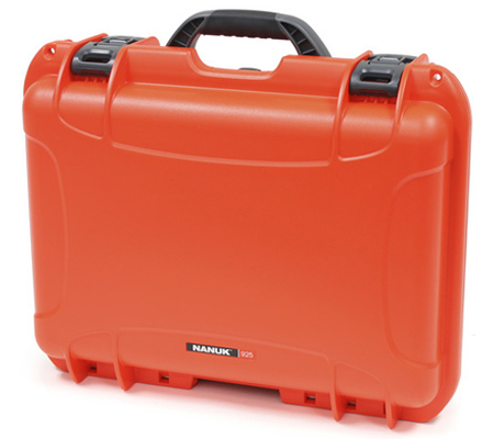 Nanuk 925 Case with Padded Dividers Orange