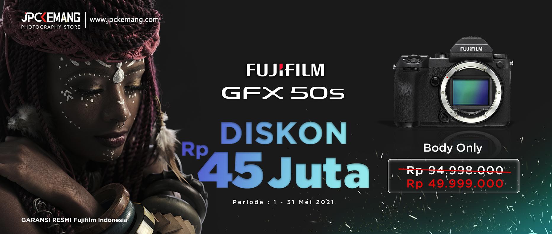 Fujifilm GFX50S Body