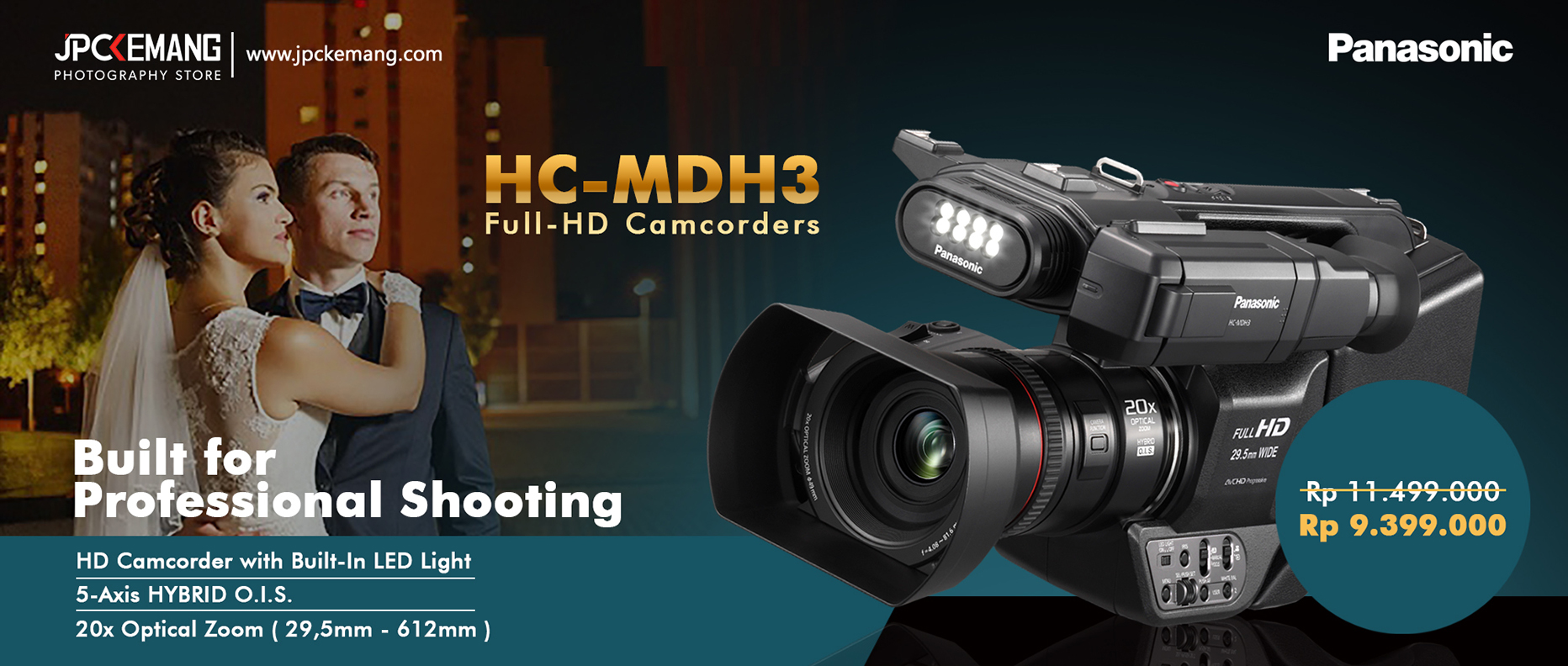 Panasonic HC MDH3 Full HD Camcorders