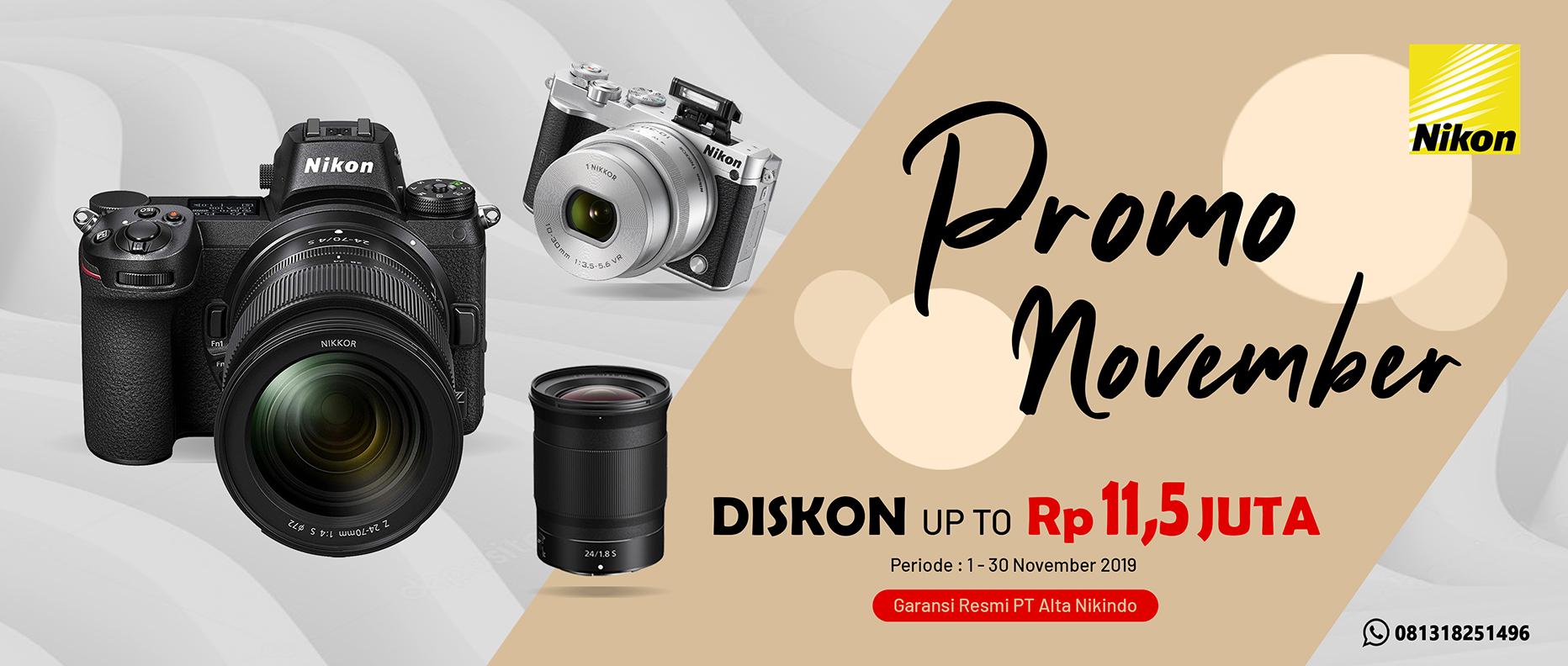 Promo Nikon November