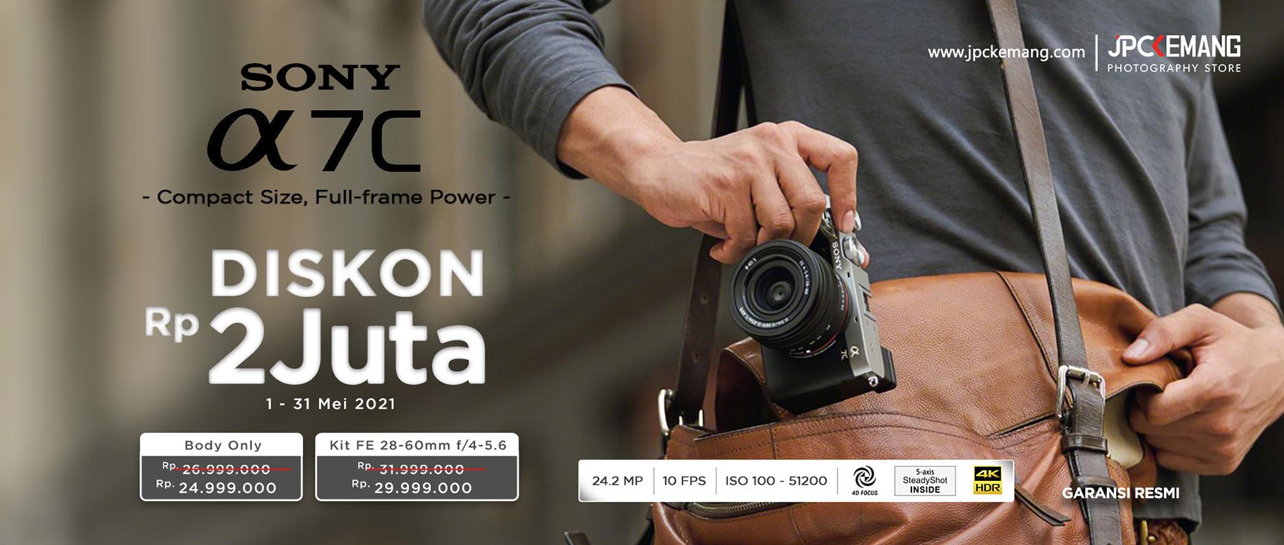 Sony Alpha A7C Mirrorless Full Frame