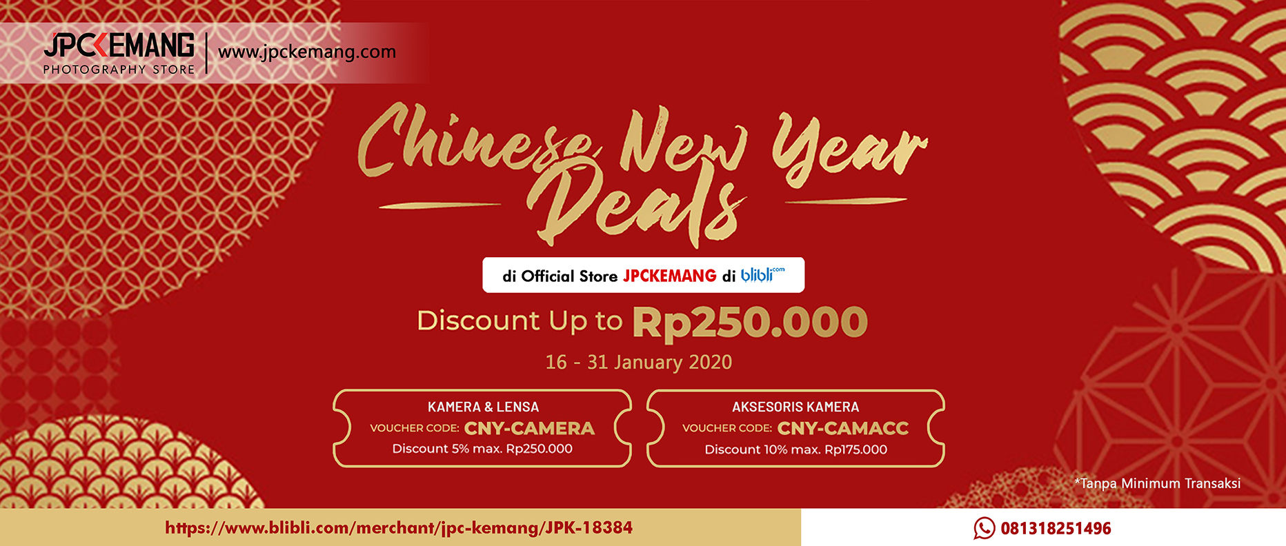Promo Blibli Chinese New Year