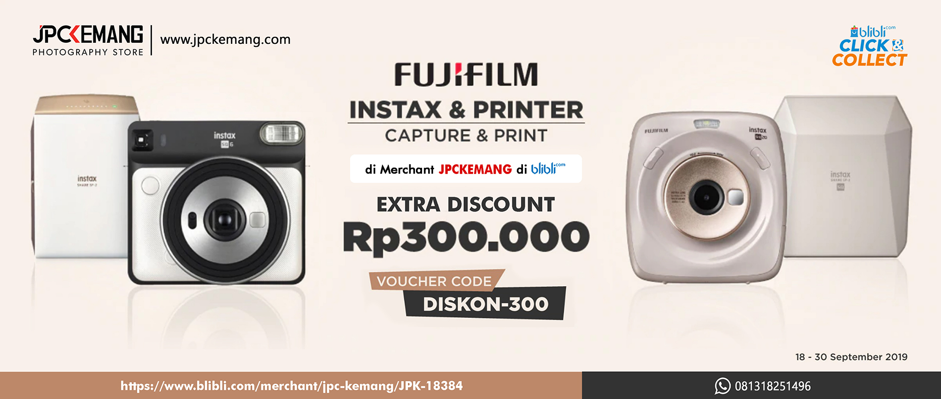 Blibli Instax and Printer
