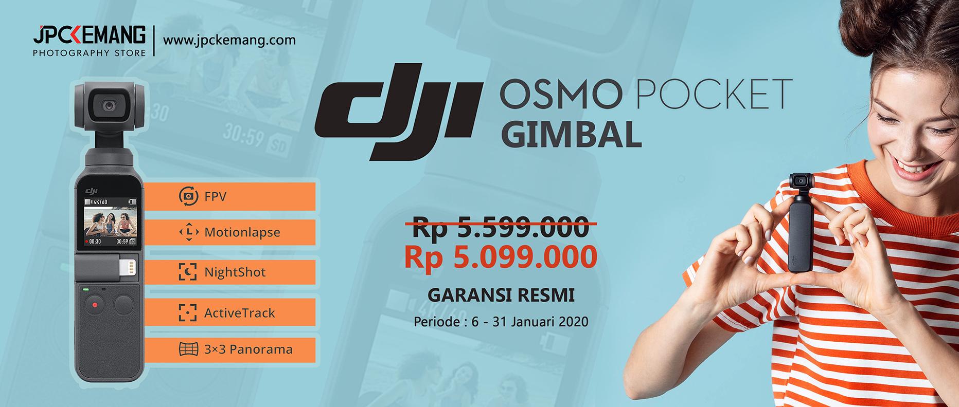 Promo DJI Osmo Pocket