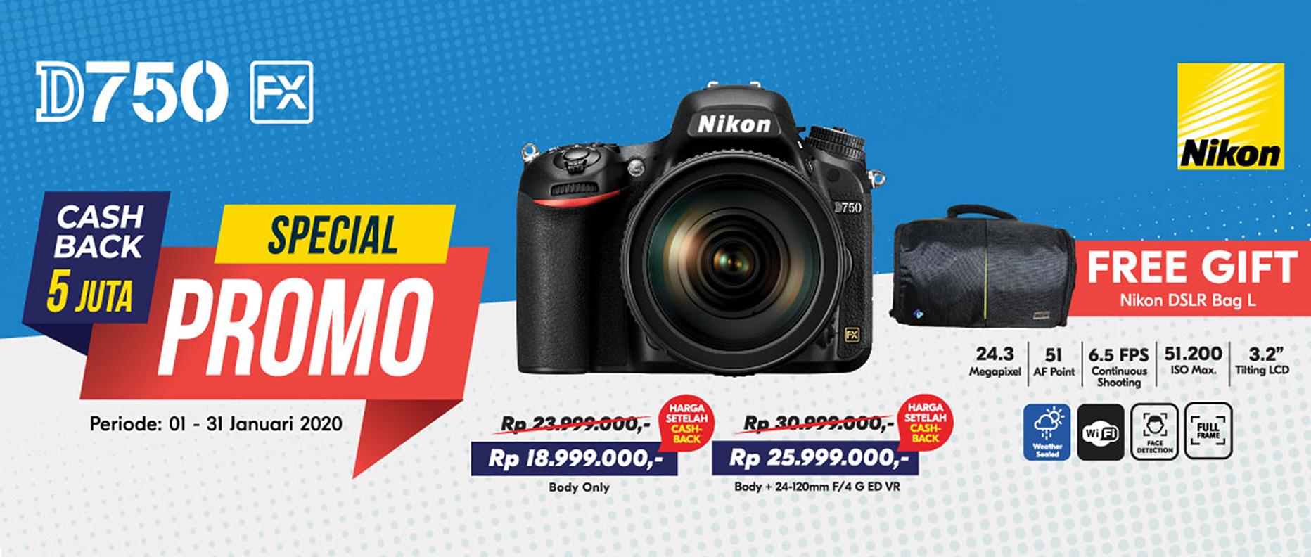 Promo Nikon D750