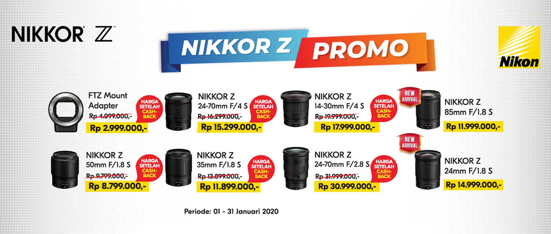 Promo Nikon Z Lenses