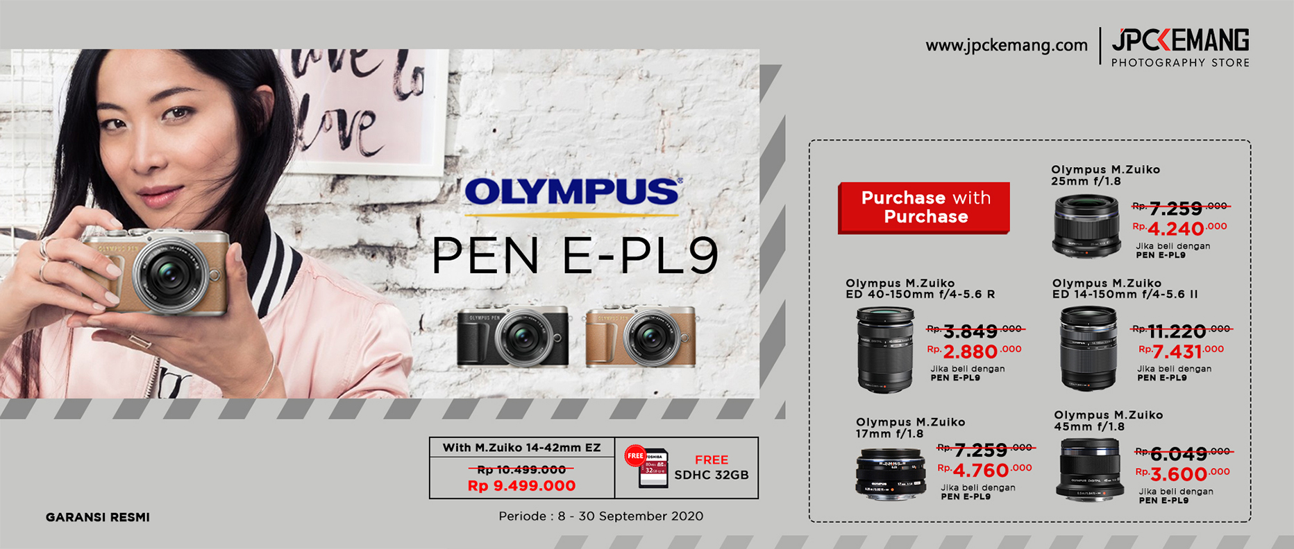 Olympus PEN E PL9 Kit