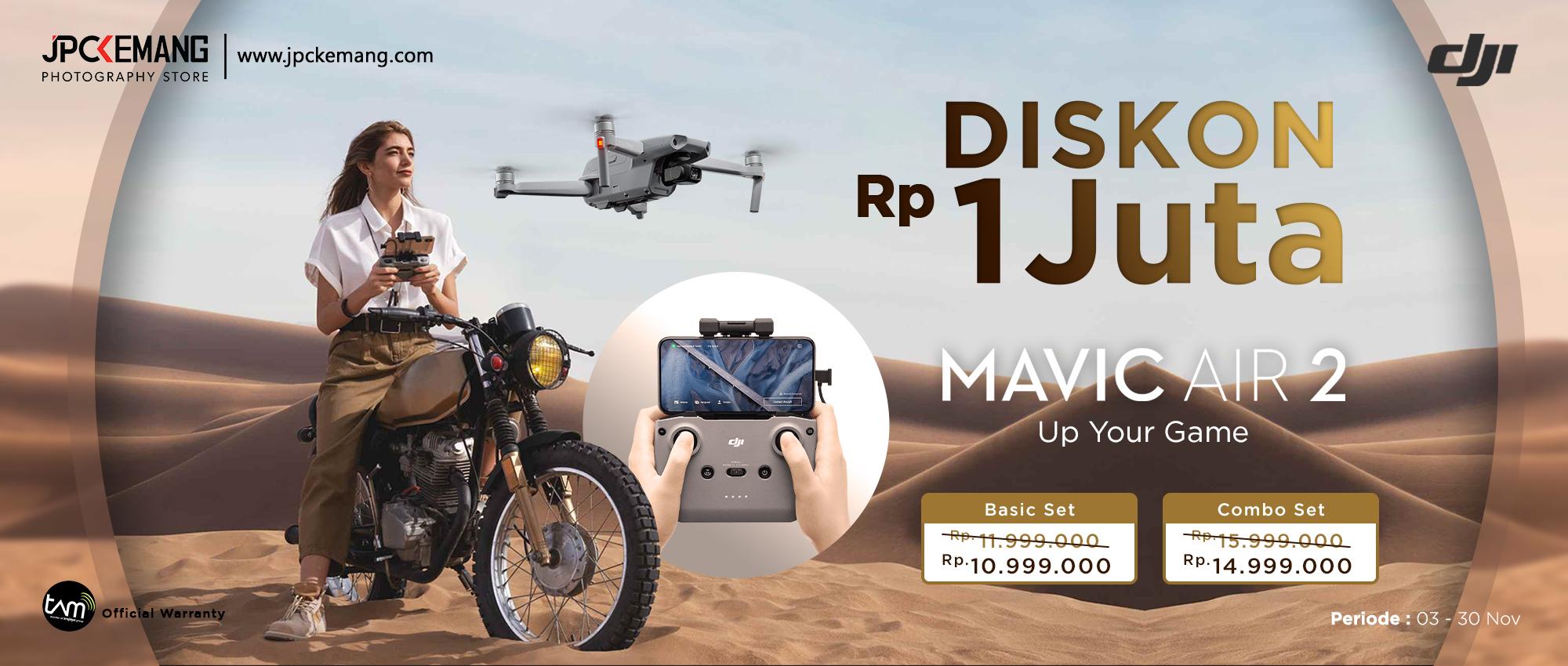 Promo DJI Mavic Air 2