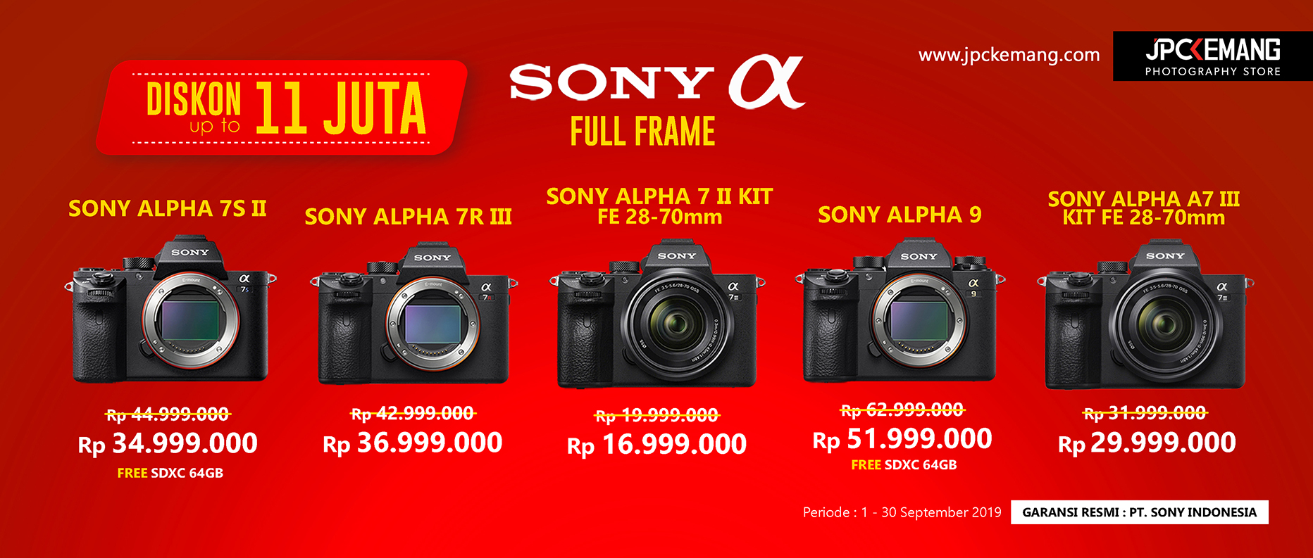 Sony Full Frame Camera