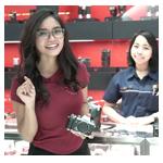 testimonials Ms. Ayudhita (Model)