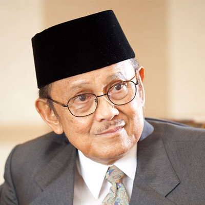 Mr. Bacharuddin Jusuf Habibie (Third President of Republic Indonesia)