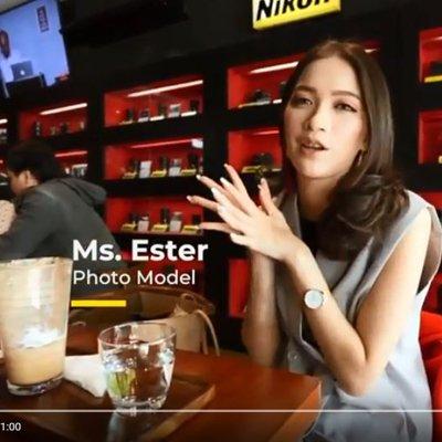 Ms Ester (Photo Model)